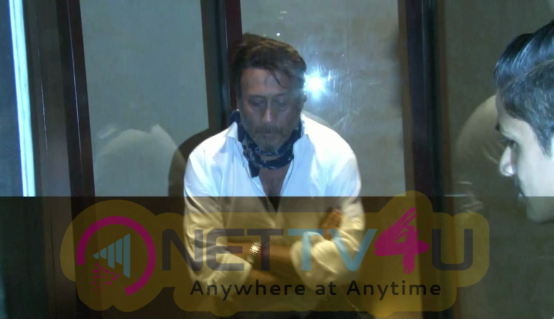 Jackie Shroff Spotted At Taj Lands End