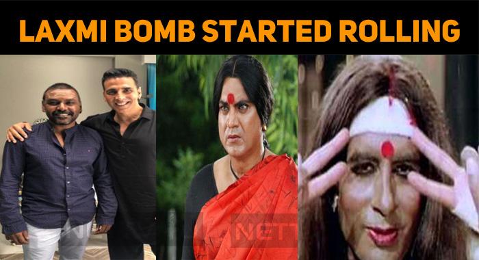 Kanchana Hindi Remake Rolls On The Floors!
