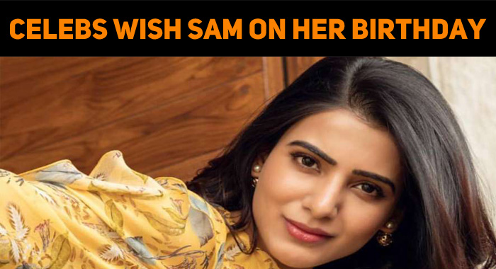 Look… Who Are All Wishing Samantha On Her Birthday…