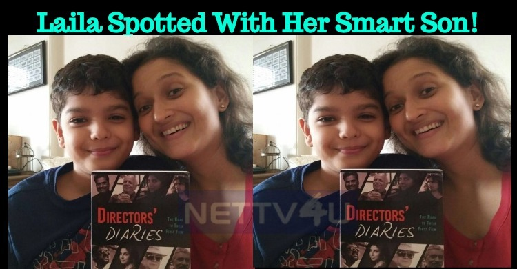 Laila Spotted With Her Smart Son!