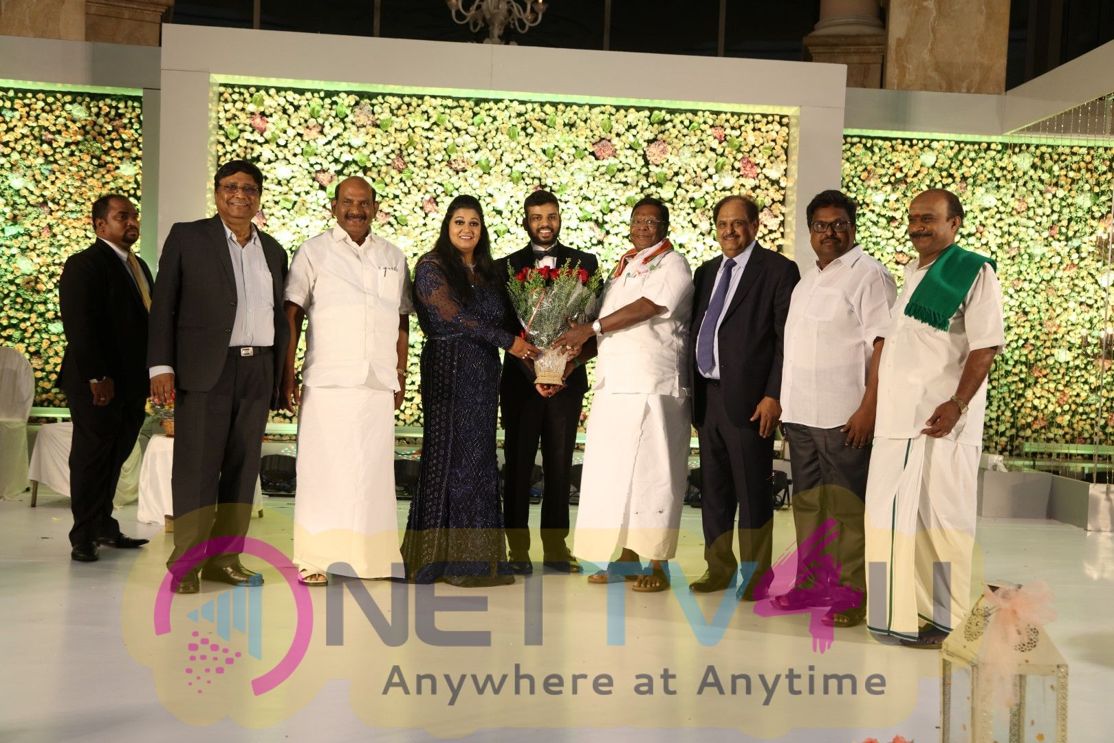 Le Meridien Hotel Chairman G.Periasamy Daughter Anandhi Wedding Reception