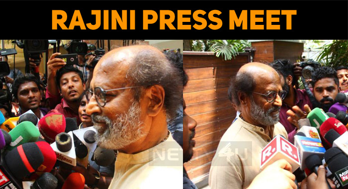 Modi Is A Charismatic Leader - Superstar Rajini At Press Meet
