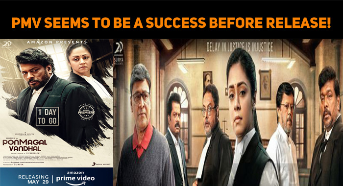 Ponmagal Vandhal Seems To Be A Success Before R..