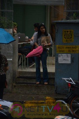 Actress Konkona Sen Sharma Spotted At Bandra Cute Images