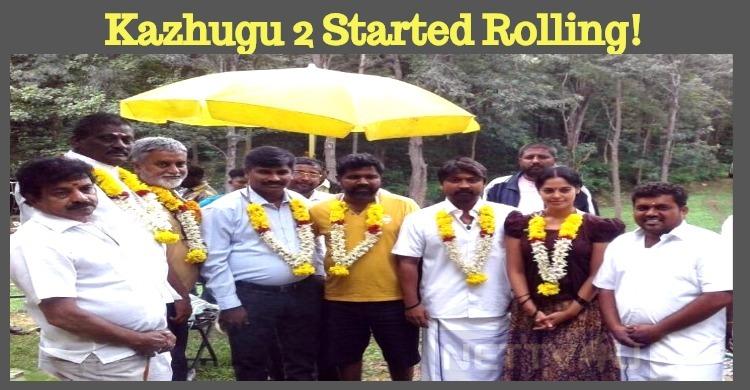Krishna Starrer Kazhugu 2 Started Rolling!
