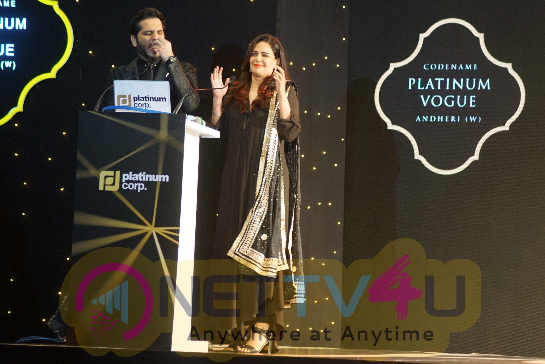 Actress Kangana Ranaut At The Launch Of Platinum Vogue Pics Hindi Gallery