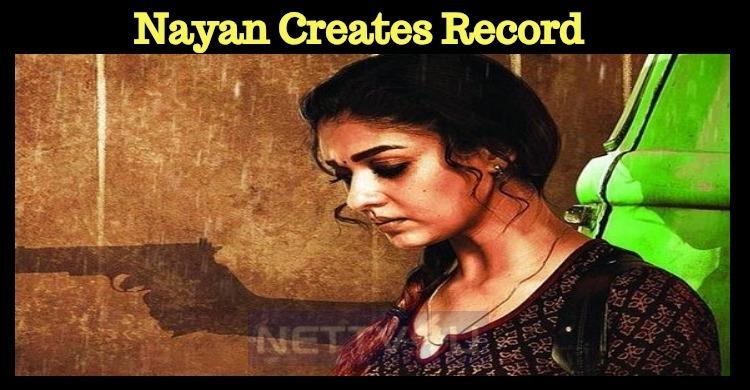Nayanthara Creates A Huge Record!