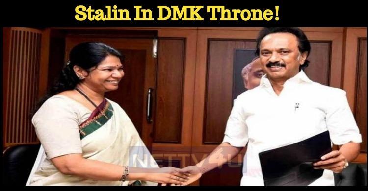 Stalin In DMK Throne!