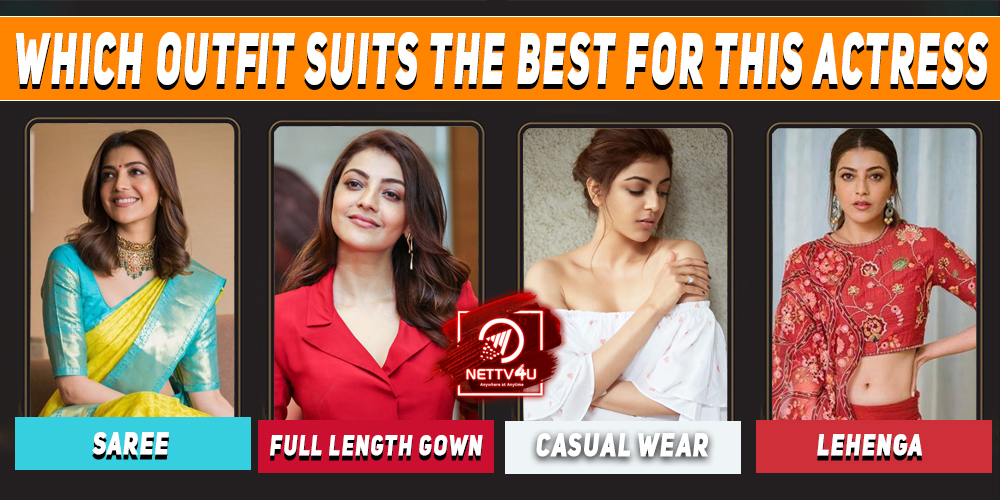Which Outfit Suits The Best For This Actress ?