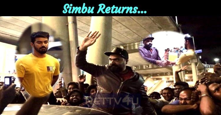 Simbu Returns…