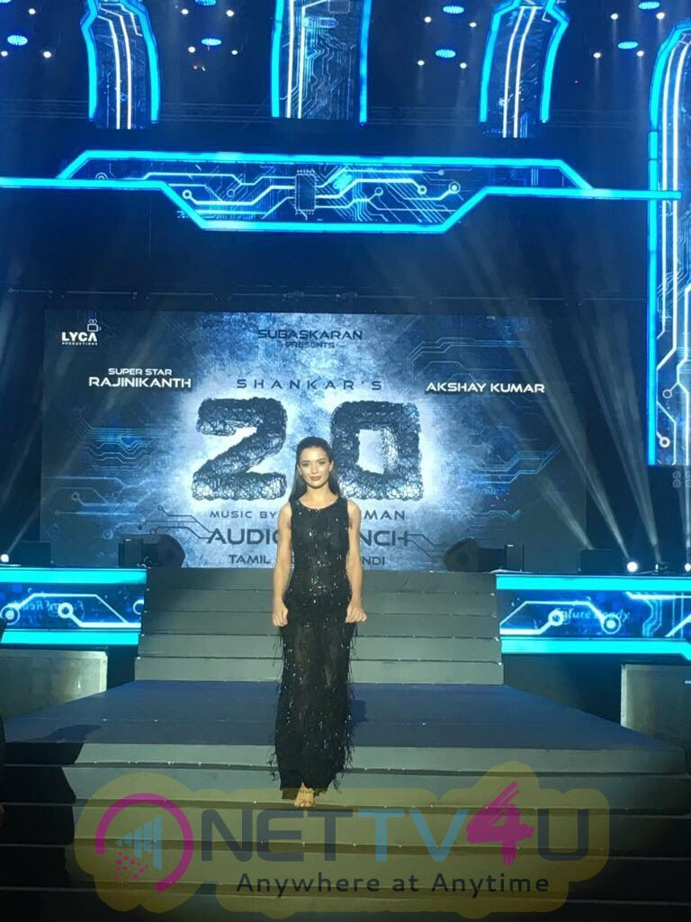 2.0 Music Launch At Dubai Stills Telugu Gallery