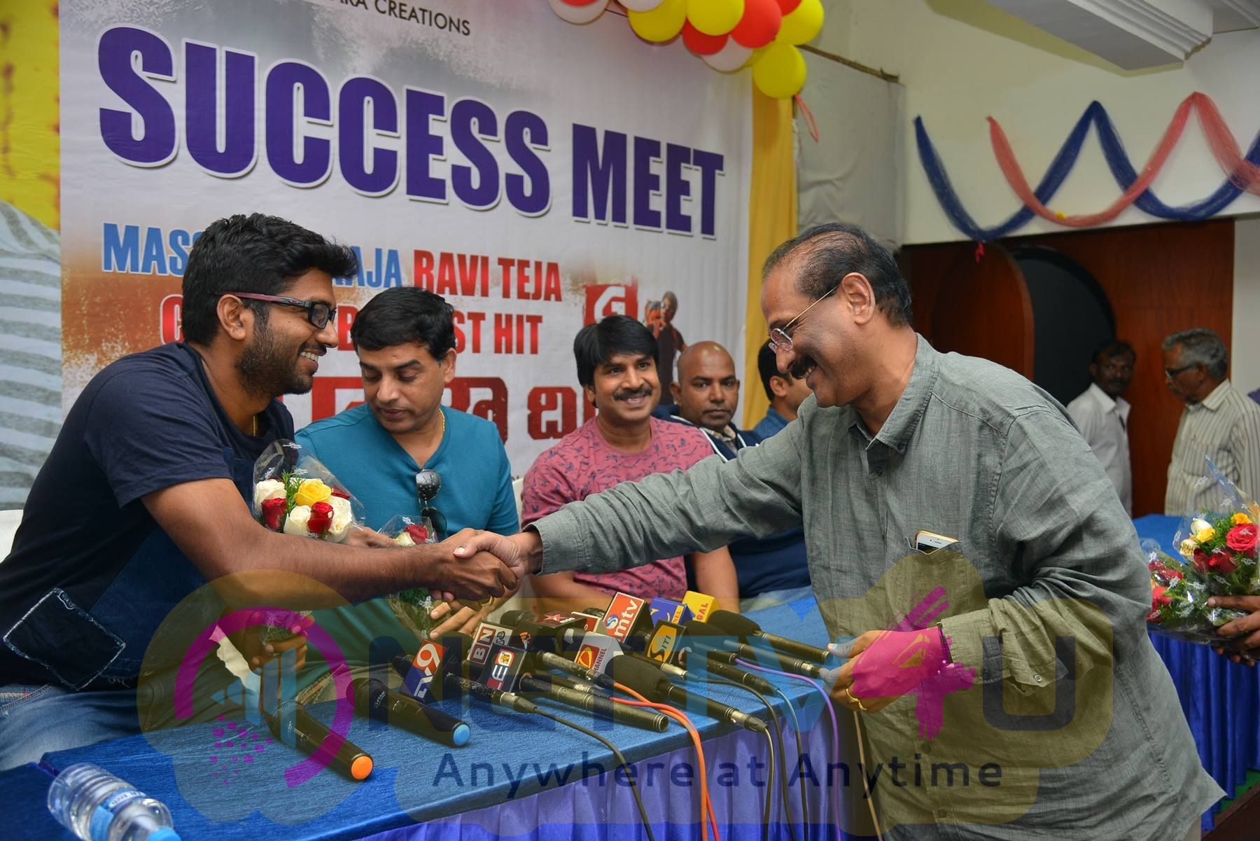 Raja The Great Team Success Press Meet In Vijayawada Pics