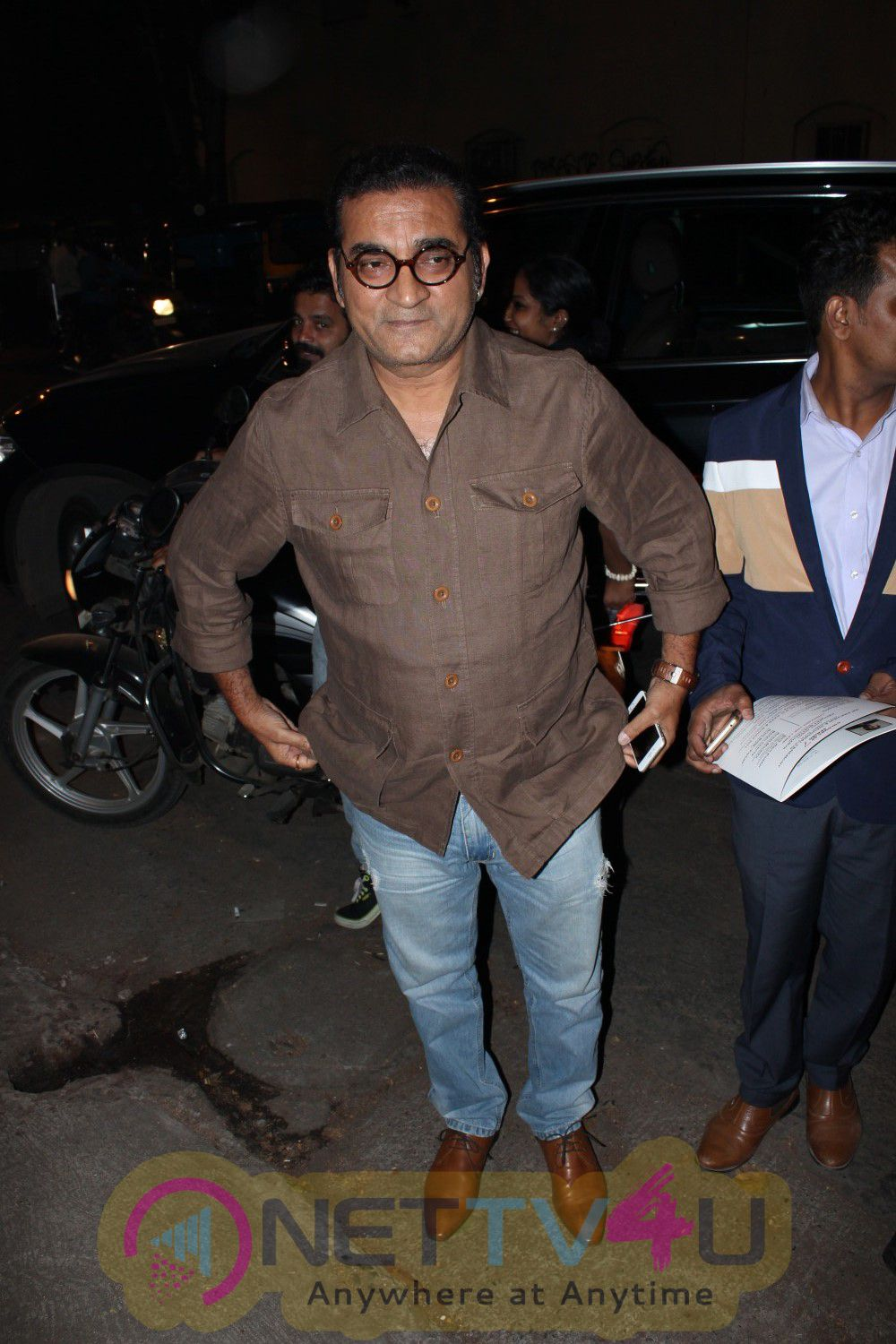Abhijeet Bhattacharya At An International Art Exhibition Of Paintings Stills