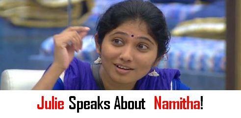 Why Julie Didn't Attend Namitha's Wedding!