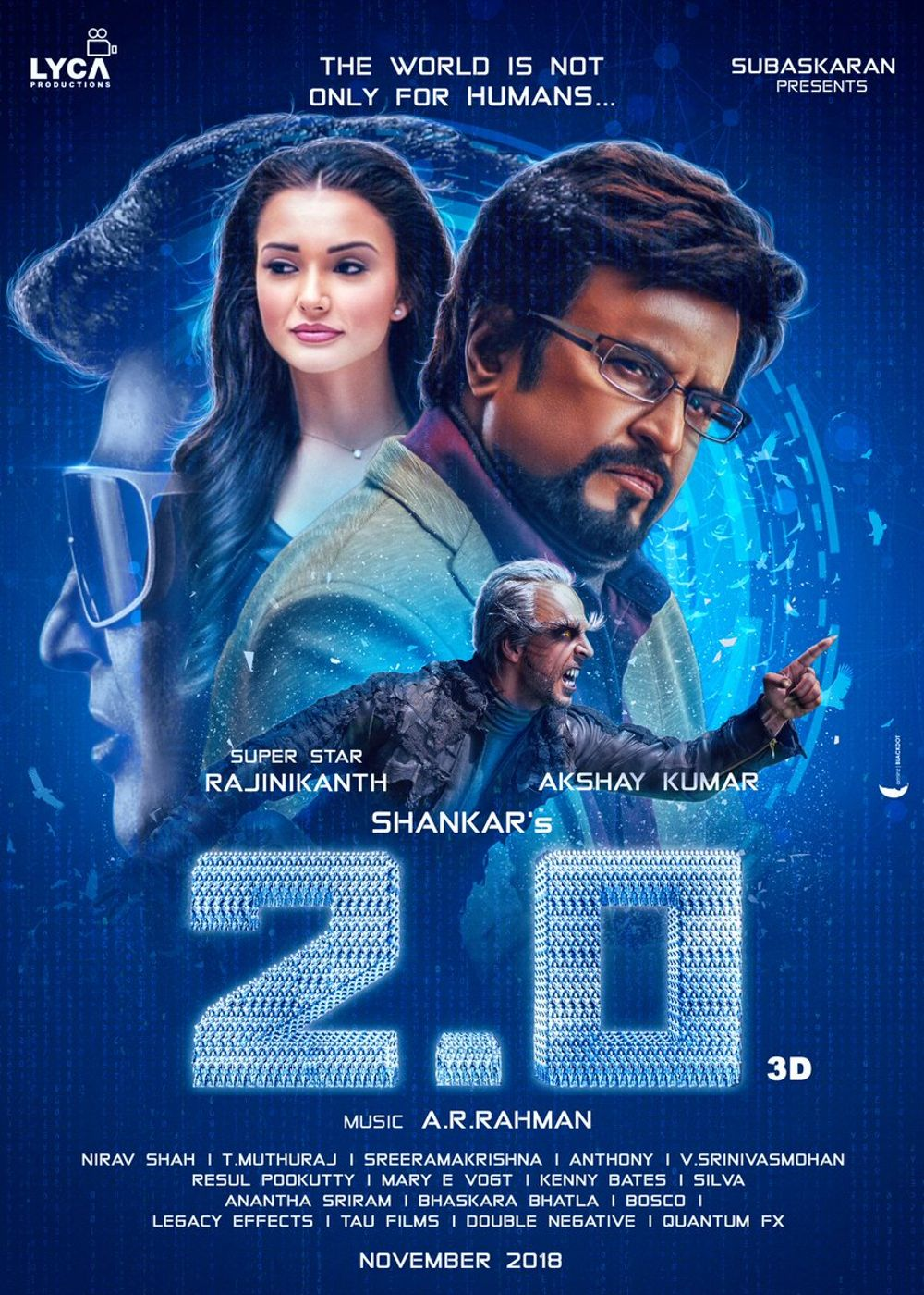 Enthiran 2 aka 2.0 Movie Review Tamil Movie Review