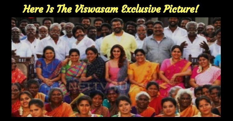 Here Is The Viswasam Exclusive Picture! Thala And Lady Superstar Full Of Smiles!