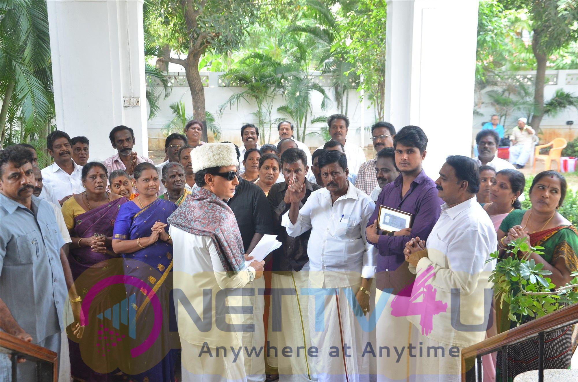 MGR Tamil Movie Working Stills
