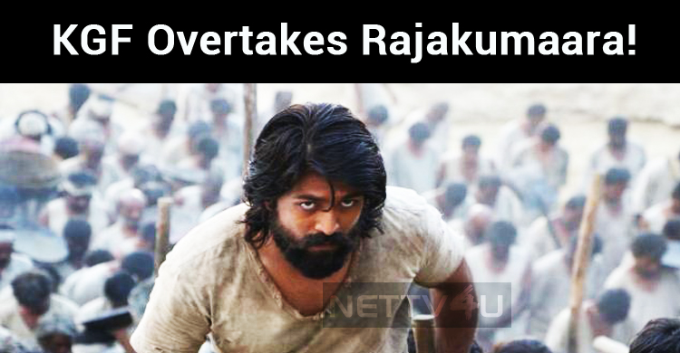 KGF Overtakes Rajakumaara!