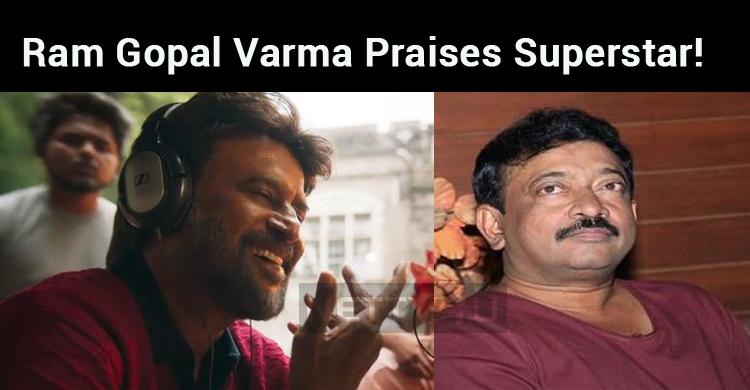 Unbelievable!!! Ram Gopal Varma Praises Superst..