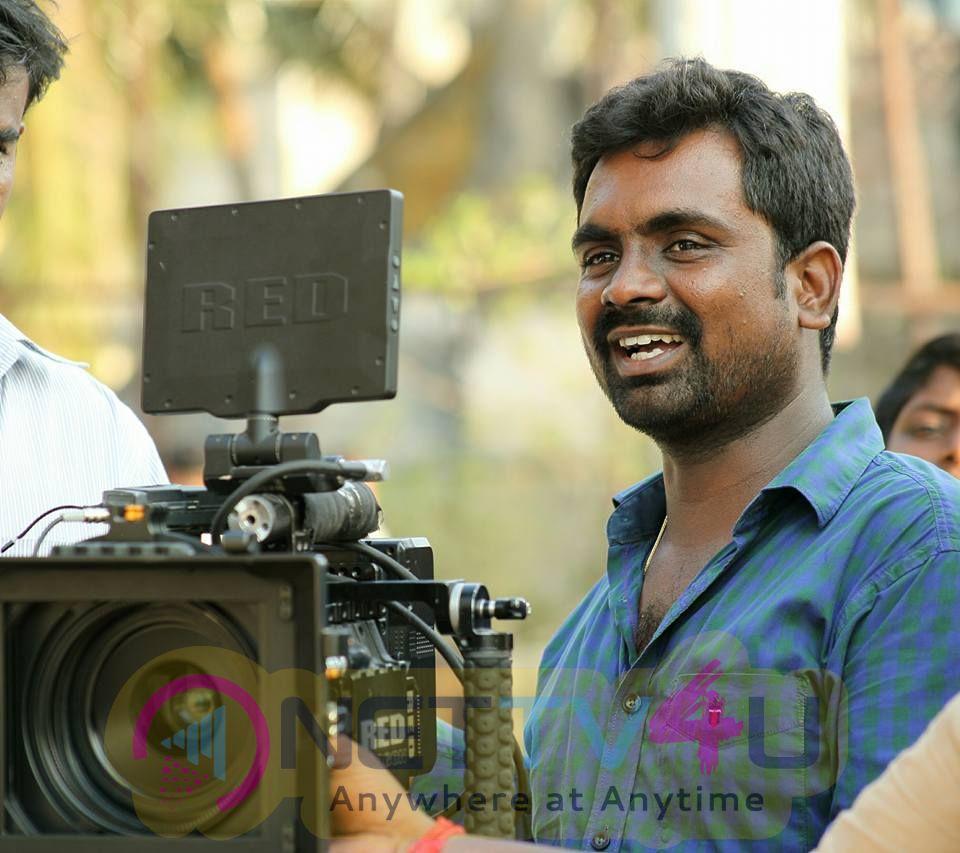 Madura Veeran Movie Working Images