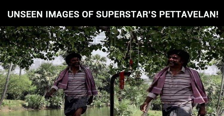 Unseen Images Of Superstar's Pettavelan!