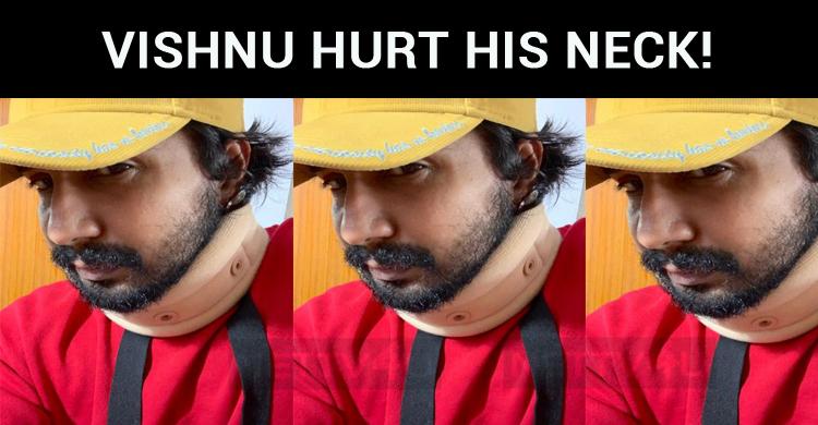 Vishnu Hurt His Neck!