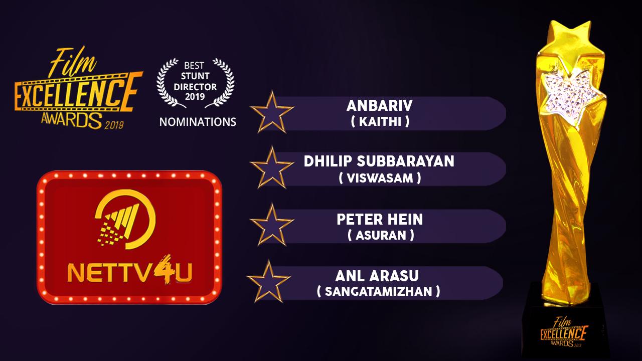 Best Stunt Director 2019 - Tamil