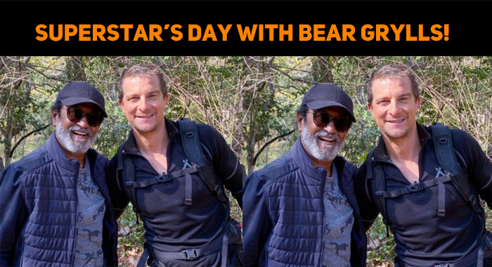 Superstar's Day With Bear Grylls!
