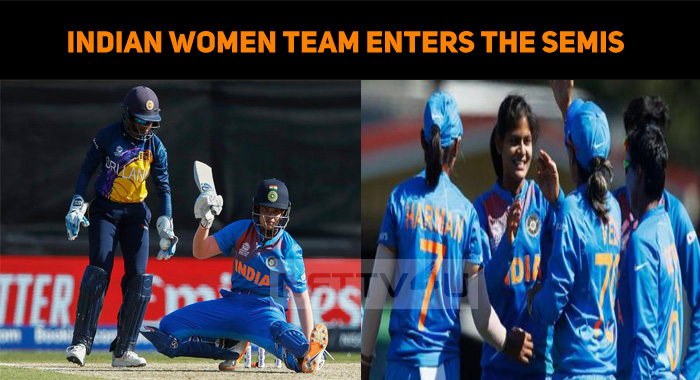 Indian Women Team Enters The Semis In T20 World..