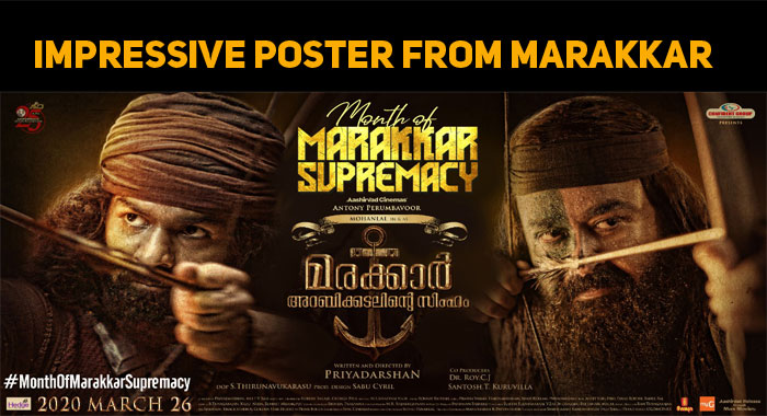 Marakkar New Poster Is Impressive!