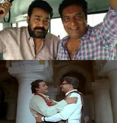 Prakash Raj Meets Mohanlal After Two Decades!