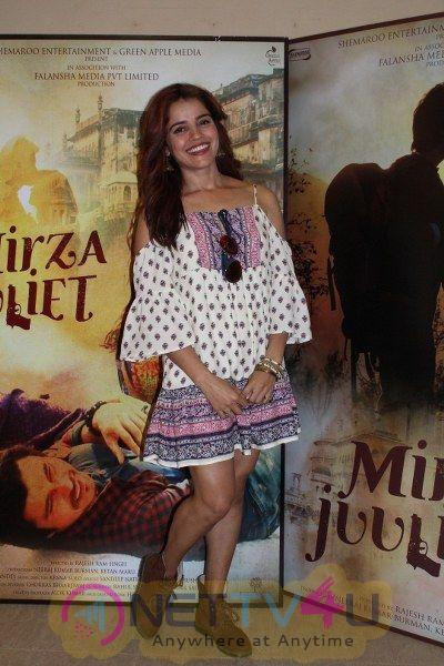 Team Of Mirza Juliet Promotional Interview Stunning Photos