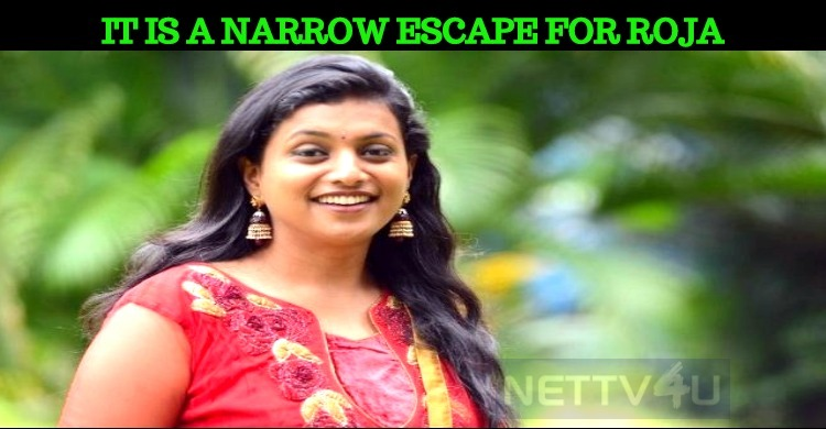 Roja's Narrow Escape From Flight Accident!