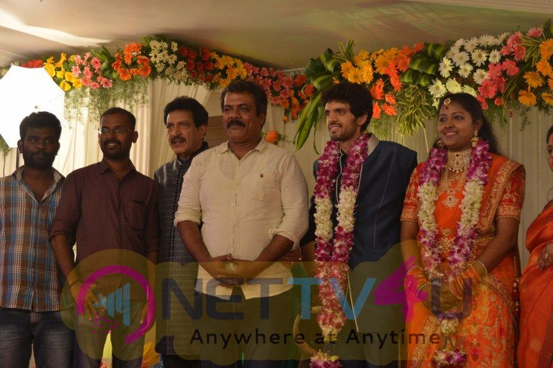 Actor Nizhalgal Ravi Son Wedding Reception Excellent Photos
