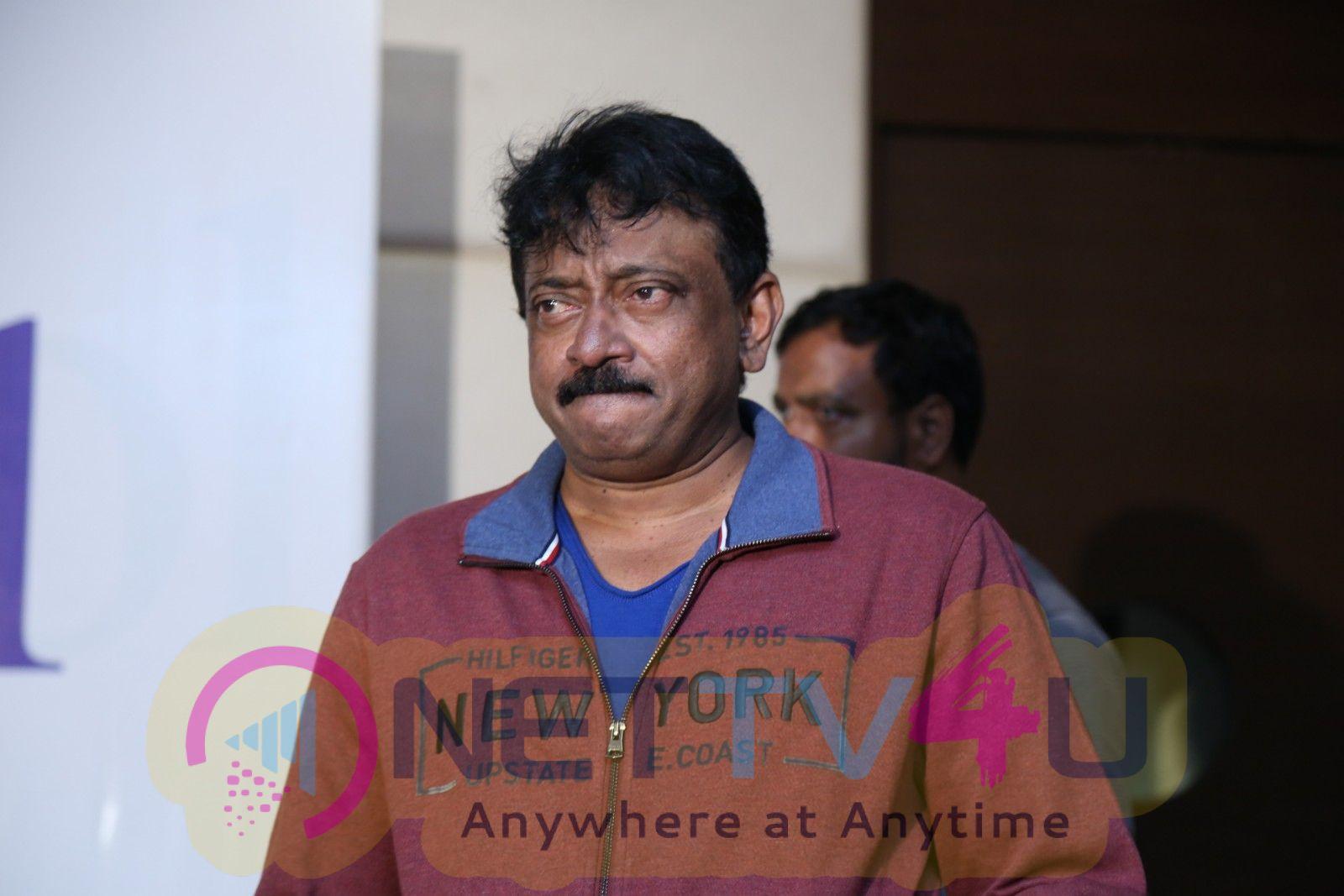 Director Ram Gopal Varma Un School Press Meet Pics