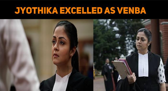 Jyothika Excelled As Venba In Ponmagal Vandhal!..
