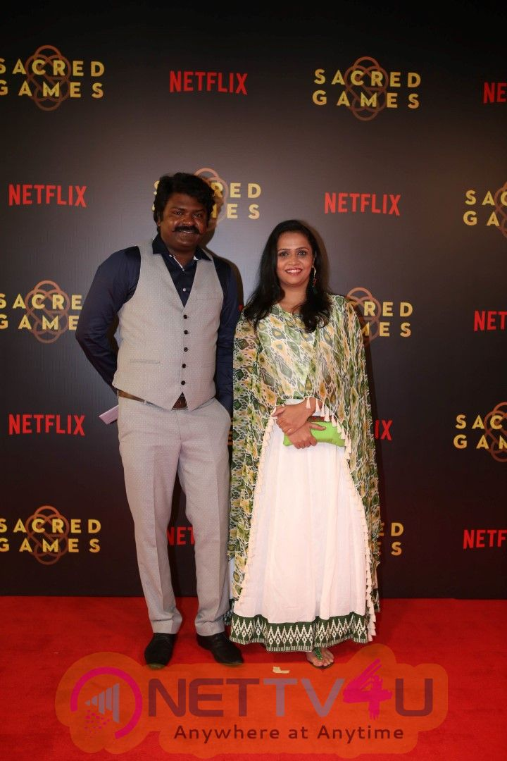 Screening Of Netflix Sacred Games At Pvr Icon Andheri Best Images