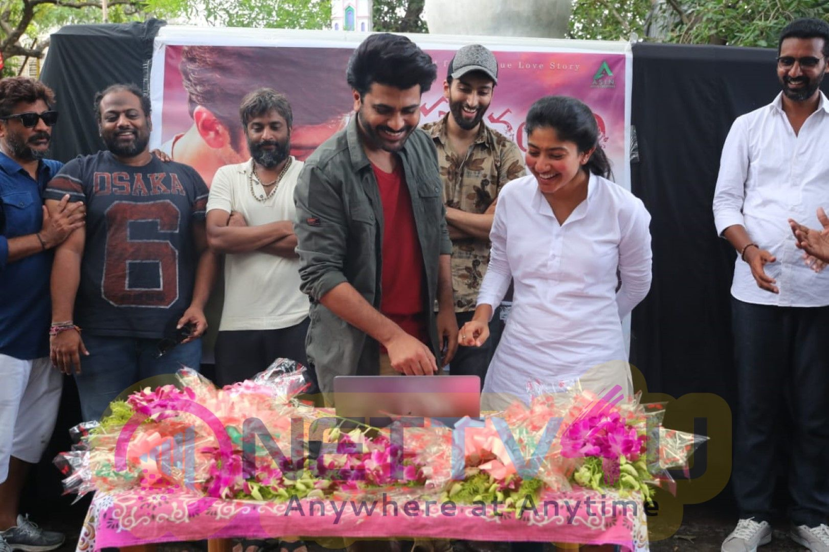 Sharwanand And Sai Pallavi Launch The Second Song Of  Parichayam  Exclusive Images