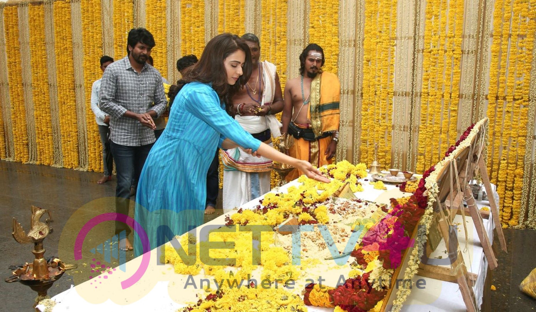 Shivakarthikeyan Upcoming Movie Pooja Stills