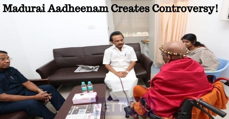 Madurai Aadheenam Creates Controversy!