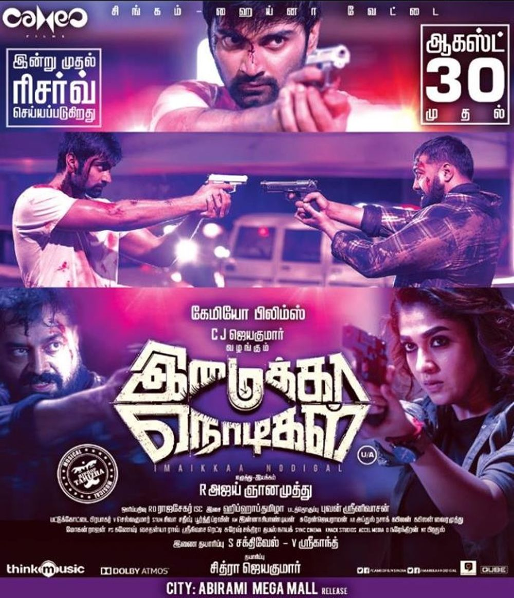Imaikkaa Nodigal Movie Review Tamil Movie Review