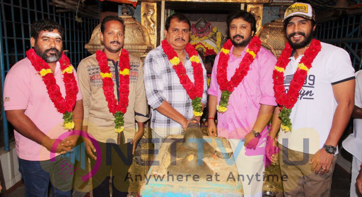 Eshan Productions New Movie Pooja Pics