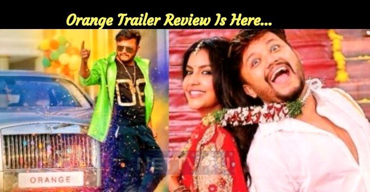 Ganesh – Priya Anand's Orange Trailer Is Out! T..