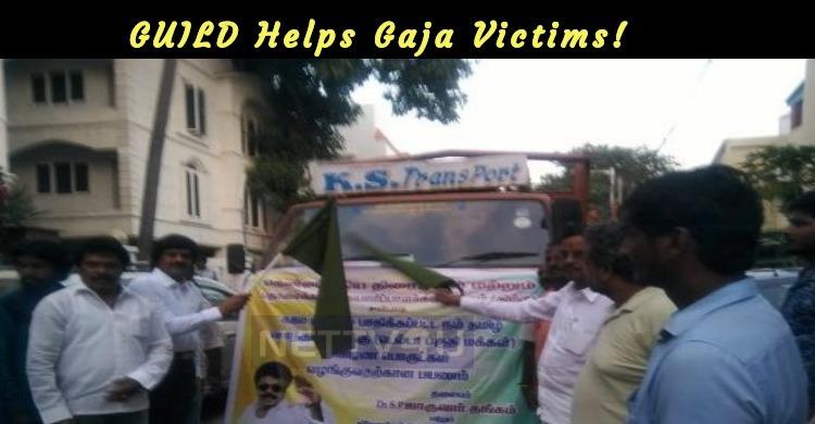 GUILD Helps Gaja Victims!