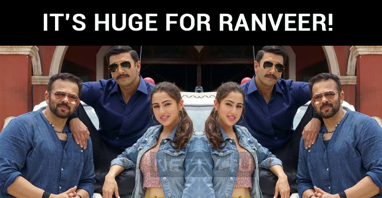 It's Huge For Ranveer!