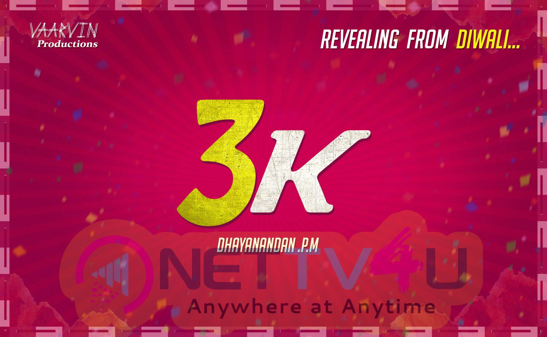 3K Poster Release On Diwali Gift By Dhayanandan