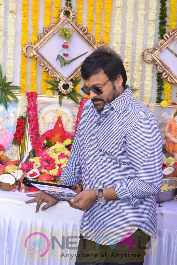 Sukumar And Ram Charan Movie Opening Exclusive Images