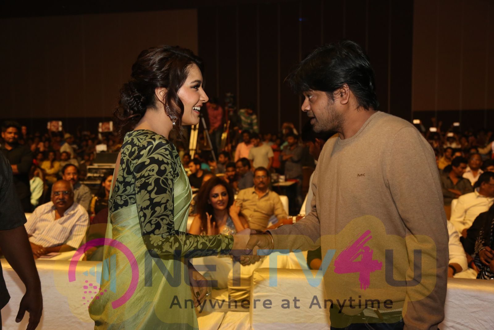 Touch Chesi Chudu Movie Press Meet Images  Telugu Gallery