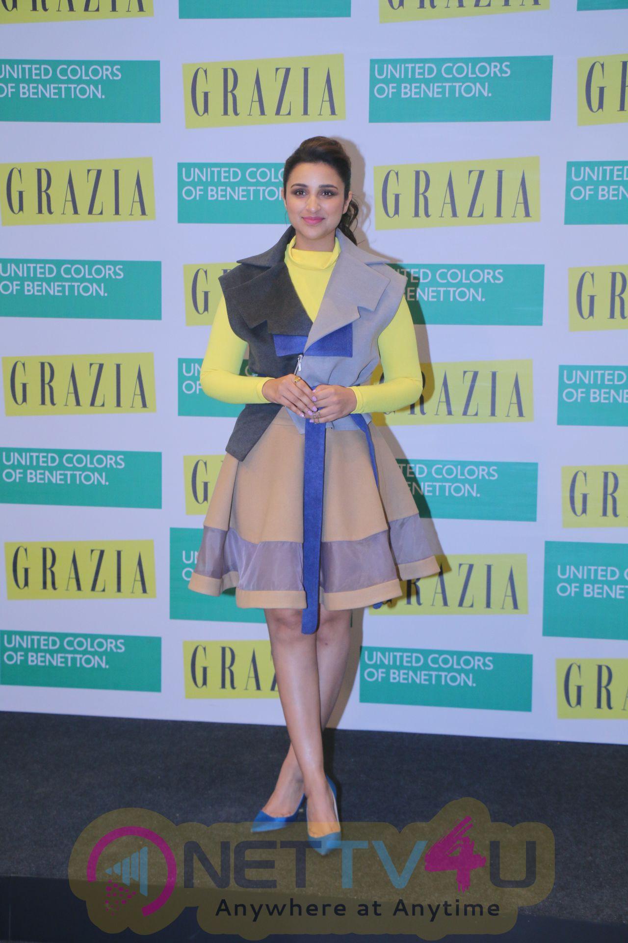 Grazia Cover Launch With The Beautiful Parineeti Chopra Stills