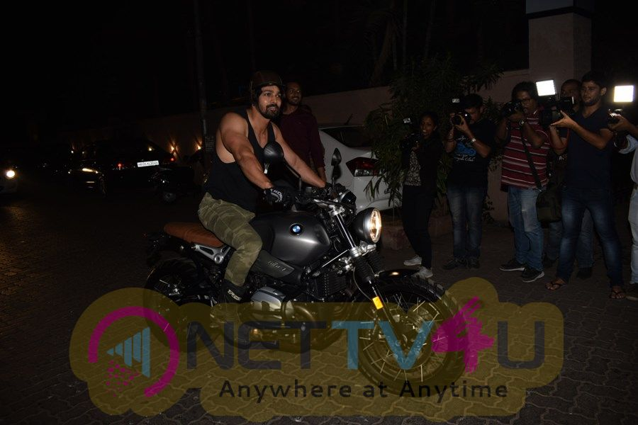 Team Paltan Spotted At Sonu Sood House Stills